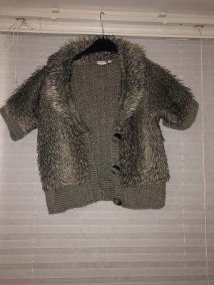 NKD Smanicato lavorato a maglia grigio