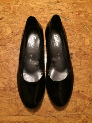 Schöne Lack Damen Schuhe