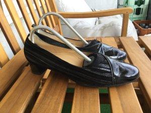 Schöne Lackleder Wildleder Pumps Schuhe Top Qualität und Zustand