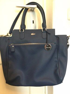 Schöne Lacoste Tasche dunkelblau