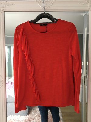 Be only Blusa de manga larga naranja-rojo