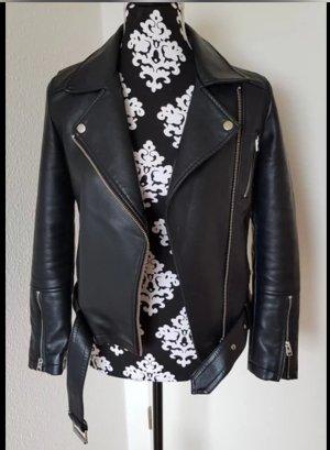 Schöne Leder Jacke von Topshop