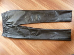 Apart Leather Trousers black
