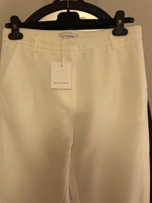 Schöne legere weiße Hose * Samsoe & Samsoe * neu mit Etikett