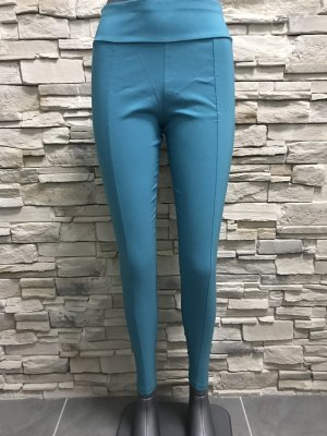 0039 Italy Leggings blu neon