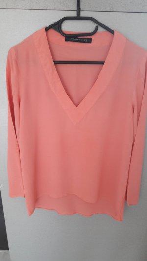 Schöne leichte Bluse in rosa