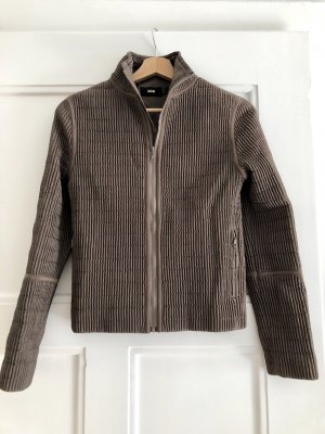 Mango Quilted Jacket light brown