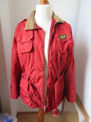Schöne leichte Jacke mit cordkragen Größe 38