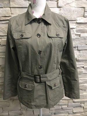 Gina Benotti Safari Jacket green grey