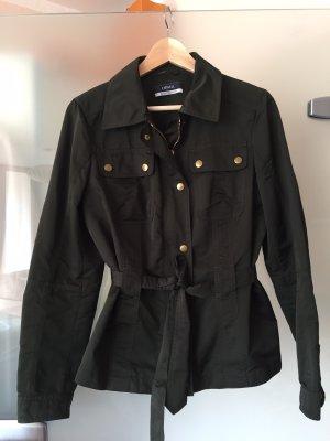 Schöne leichte Jacke von Orwell dunkelgrün, Gr 38