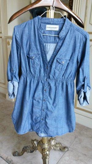 schöne leichte längeres Jeanshemd !