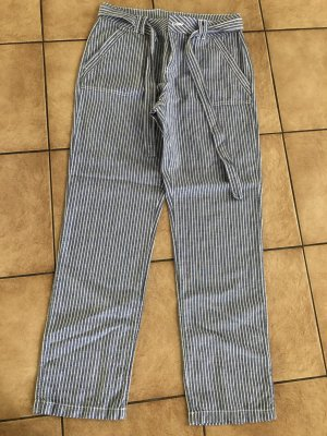 Yessica Pantalone di lino multicolore Lino