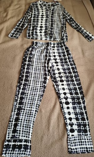 Primark Pyjama wit-zwart