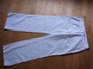 s.Oliver Pantalon en lin blanc