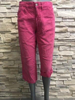 Angels Linen Pants pink-raspberry-red