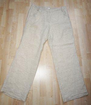 Gardeur Pantalón de lino beige claro Lino