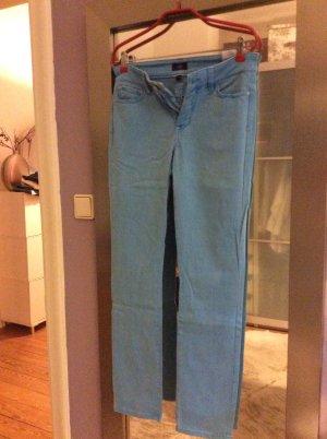 NYDJ Five-Pocket Trousers light blue-neon blue
