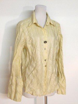 schöne - Long - Bluse - Crashlook von Designer Label Elisa Cavaletti - Gr. L