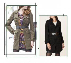 Schöne Mantel - Jacke Gr. 34