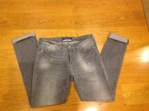 Schöne Mavi Slim Jeans grau Gr. 36 lang