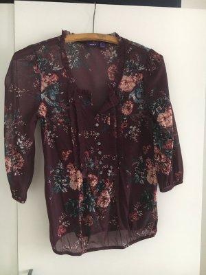 Schöne Mexx Bluse mit Blumen