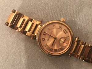 Michael Kors Reloj color rosa dorado acero inoxidable