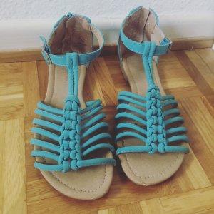 schöne mittel- baby blau Primark Sandalen