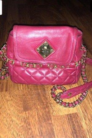Schöne Moschino Tasche in Fuchsia / Pink