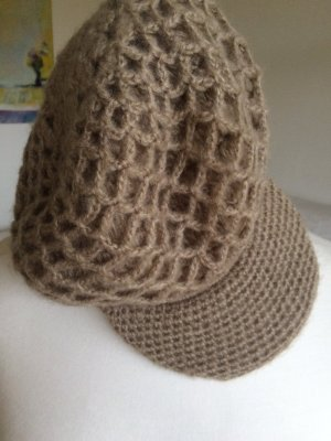 Benetton Knitted Hat beige