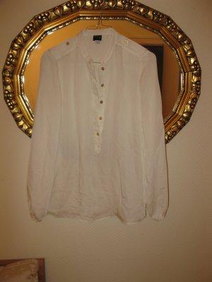 Schöne neue, elegante weiße Bluse, D34-36