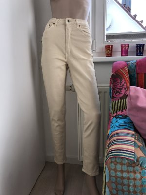 Schöne neue High Waist Hose Stretch mit Etikett in Größe 36 und 38