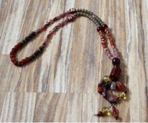 Hallhuber Statement Necklace multicolored