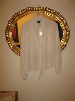 Schöne neue weibliche Bluse in hell Creme, D34