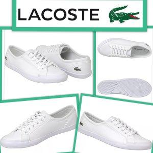 Schöne neuwertige - Lacoste - Sneaker Gr .41