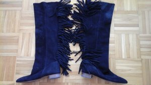 Zara Overknees black suede