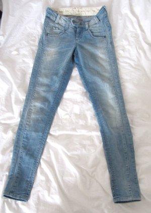 Schöne OBJECT Jeans Coole helle Waschung BLU-LIV Superstretch