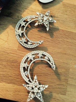 Schöne Ohrringe Glitzersteine