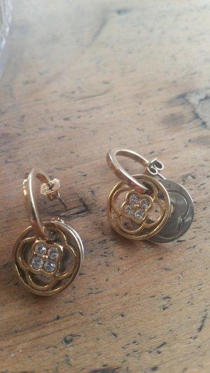 Schöne Ohrringe von Dyrberg/Kern gold und silber