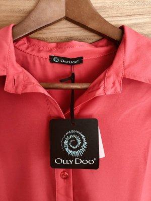 Odd Molly Lange blouse zalm