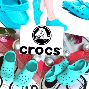 Schöne originale & neuwertige Crocs Gr .41