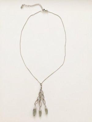 schöne PILGRIM Halskette silber / versilbert