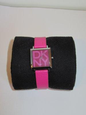 schöne pinke DKNY Uhr