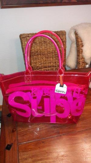 Superdry Shopper pink