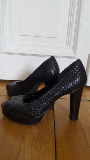 1921 Platform Pumps black