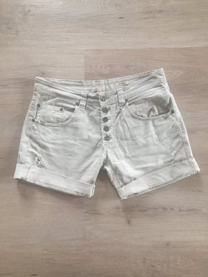Please Short en jean multicolore