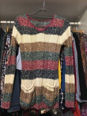 Mango Kimono sweater veelkleurig