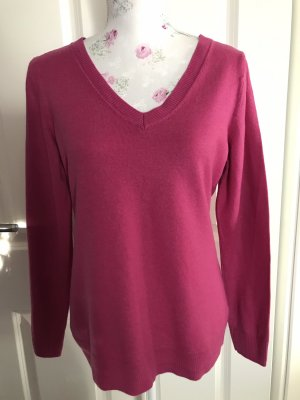 Banana Republic Wool Sweater raspberry-red-magenta