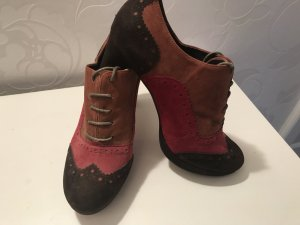 Carma Shoes Tacones con cordones multicolor