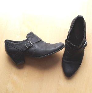 Tamaris Zapatos sin cordones negro-gris antracita