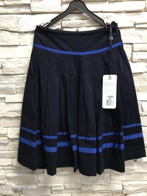 Apart Sobrefalda azul oscuro-azul